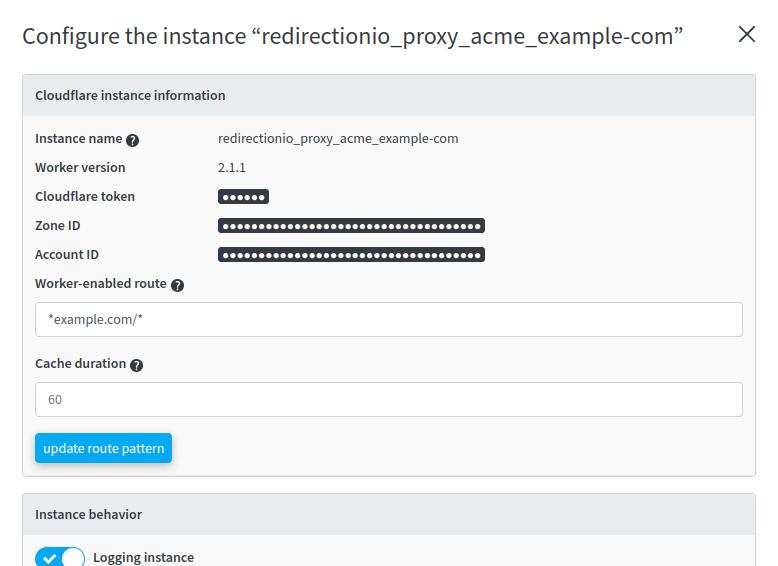 Cloudflare integration cache